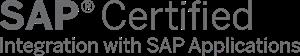SAP logo Certificate